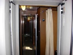 トワイライトエクスプレス B個室 シングルツイン 6号車 廊下