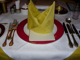 ダイナープレヤデスのデイナー準備
